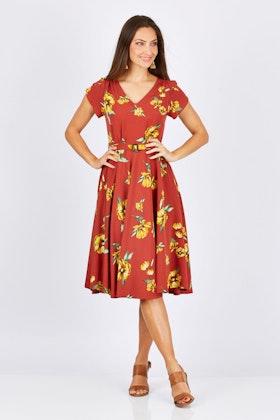 Elise Sadie Floral Dress