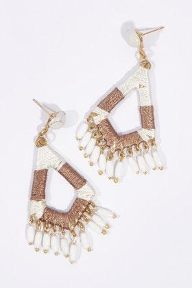 Zoda Diamond Droplet Earrings