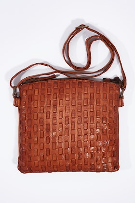 Kompanero Dana Leather Shoulder Bag