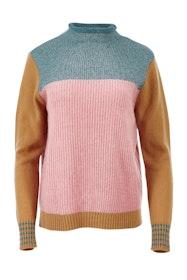 Metallic Trim Pullover