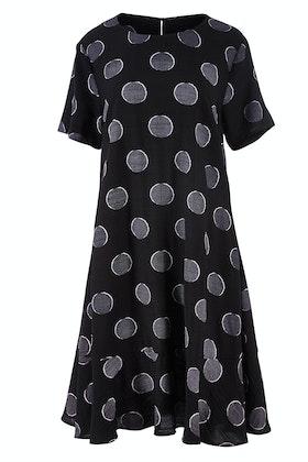 Clarity By Threadz Spot Dress
