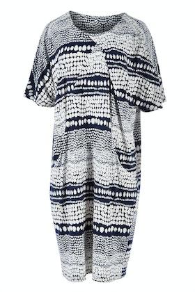 Clarity By Threadz Print Drape Dress