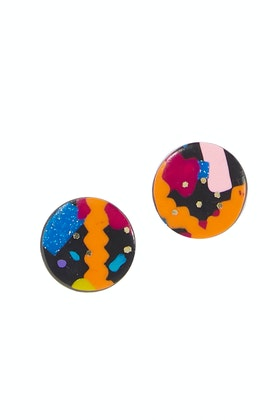 Seeking Hazel Fleck Stud Earrings