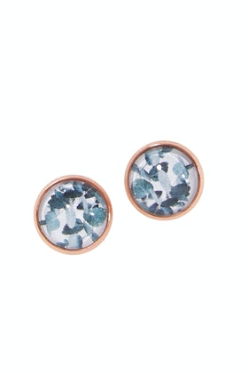 Nest Of Pambula Eucalyptus Stud Earrings