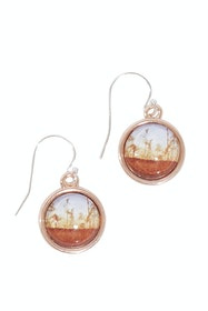 Dusk Sterling Silver Drop Earrings