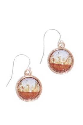 Nest Of Pambula Dusk Sterling Silver Drop Earrings