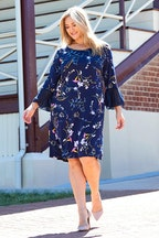 Belle bird Belle Printed Jersey Dress