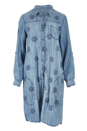Orientique Denim Shirt Dress