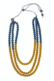 Two Tone Adjustable Necklace