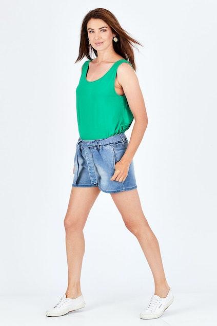 05607e7421 Betty Basics Alex Stretch Denim Short - Womens Shorts - Birdsnest ...