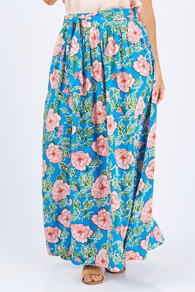 that bird label Loretta Maxi Skirt Mojito
