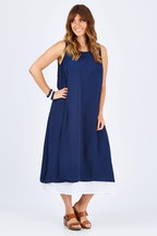 Cordelia St Double Layer Maxi