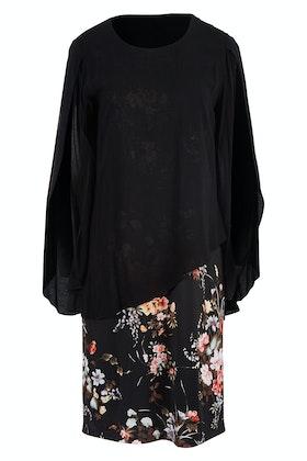 Cordelia St Overlay Petal Dress
