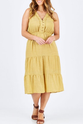 Wish Caribbean Midi Dress