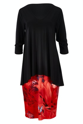 Cordelia St Pavia Overlay Dress