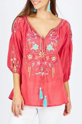 Lula Life Coralea Shirt