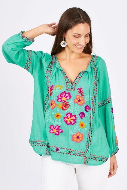 59ddc0da09bdc Lula Soul Celebrate Shirt - Womens Blouses - Birdsnest Online Store