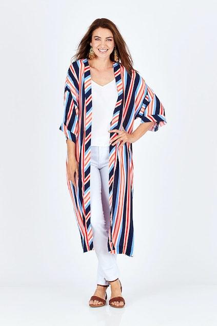 ae4bcdc630f86 Elm Layla Long Line Kimono - Womens Kimonos - Birdsnest Online ...
