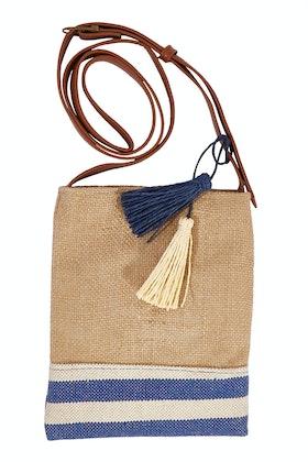 Condura Jute Cotton Crossbody Bag