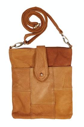 Condura Leather Patch Crossbody Bag