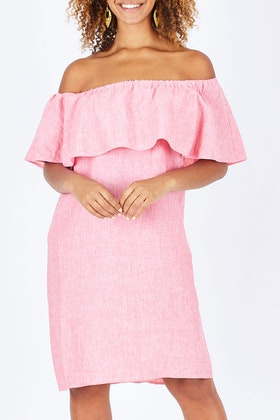 See Saw Ruffle Dress