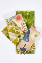 BeeGreen Wraps Four Starter Pack Beeswax Wraps