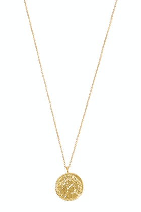 Jolie & Deen Clio Coin Necklace