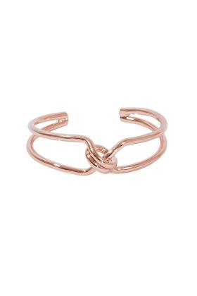 Jolie & Deen Twist Loop Cuff Bracelet