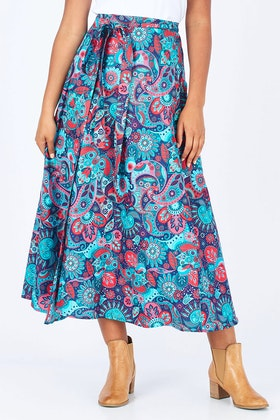 Rasaleela Grace Wrap Skirt