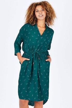 Elm Sage Tie Dress