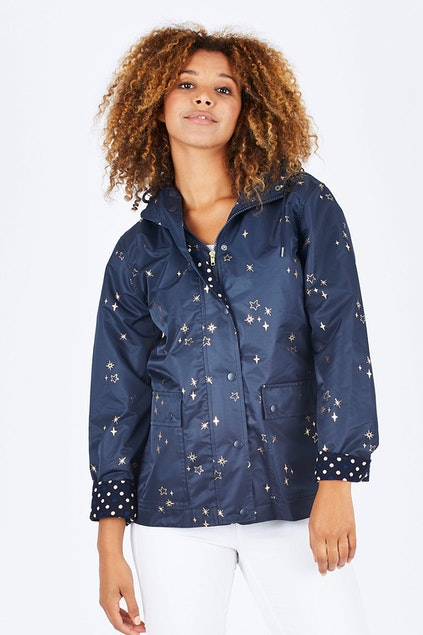 af2c8080c87a3 Elm Rain Drops Jacket - Womens Jackets - Birdsnest Clothing Online