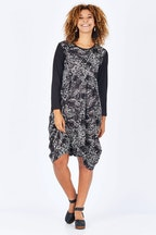 Orientique La Peiosa Print Dress
