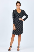 Cordelia St Jersey V Dress