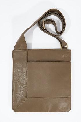 Condura Leather Crossbody Bag