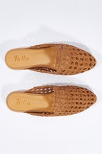 Rollie Madison Open Suede Mule