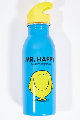 Wild & Wolf Mr Happy Water Bottle