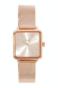 La Garconne Mesh Rose Gold Watch