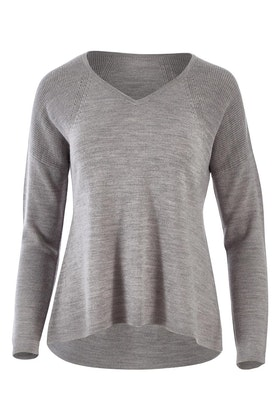 Natural for birds Merino Wool Detailed Sweater