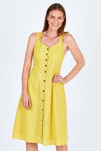 Spicy Sugar Button Up Midi Dress