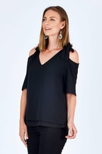 bird keepers The Shoulder Tie Top