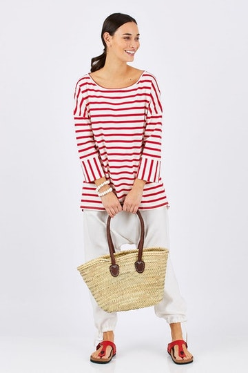 9f19a8f3fc17 Stripe Me Happy Outfit includes boho bird