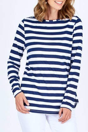 bird keepers The Boat Neck Top
