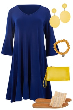 Blue & Yellow