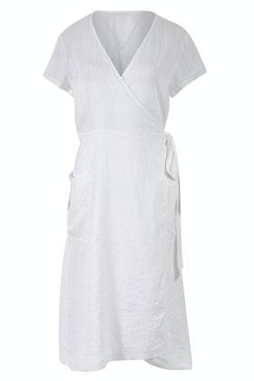 JAG Hammam Linen Wrap Dress