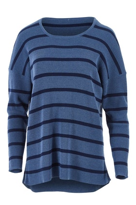 bird keepers The Cotton Blend Stripe Jumper