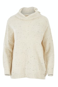 The Fleck Roll Neck Knit