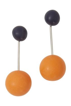 Ruby Olive Aurora Bold Solar Drop Earrings