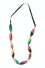 Carousel Abstract Stripe Necklace