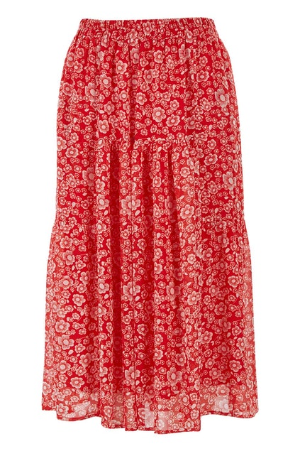 2578c4ba5c Fate + Becker Positano Elastic Waist Skirt - Womens Long Skirts ...
