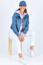 Betty Basics Gunner Denim Jacket